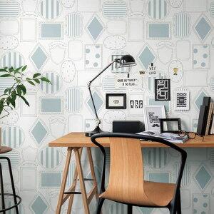 【 壁紙 のり付き 】 壁紙 のりつき パターン フレーム 額縁 イラスト 防かび リリカラ LL-5242