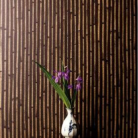 【 壁紙 のり付き 】 壁紙 のりつき クロス 不燃 和風 和柄 竹 防かび ルノン RH-4827