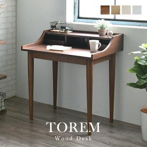 デスク 机 80cm幅 TOREM トレム 全4色 desk