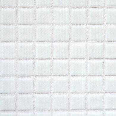 貼ってはがせるリメイクシート ハッテミー モザイクタイルホワイトMOSA-01