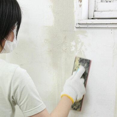 壁の補修、壁紙の下地調整に!煉り済みで、そのまま使えるヤヨイ水性シールパテ(4kg)
