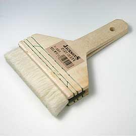 ふすま紙・襖紙・障子紙にのりを塗るならコレ! のり刷毛 12cm(T-503)【あす楽対応】