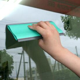 ガラスシートを貼る道具!ガラスフィルムを貼るヘラ! お掃除に使えます♪ ダブルスキージー 極東 13-2653 【あす楽対応】 壁紙屋本舗