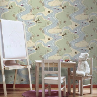 Import wallpaper UK made paper-made wallpaper Graham Brown and Graham & Browne (sold in units of 1 roll (52 cm x 10 m))