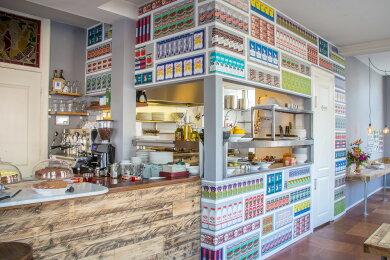 輸入壁紙 オランダ製NLXL LAB Supermarket Wallpaper / Paola Navone エヌエルエックスエル・ラボ(1ロール(48.7cm×10m)単位で販売)フリース(不織布)【国内在庫】