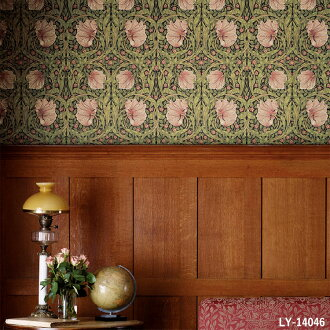 Import Wallpaper United Kingdom Made By Morris Co And Sold In Units Of 1 Roll 52 Cm X 10 M Paper Series Ly 14045 14046