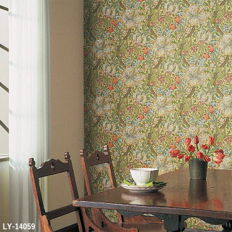 Import Wallpaper Made Of British Morriorris Sold In Units 1 Roll 52 Cm X 10 M Paper Based