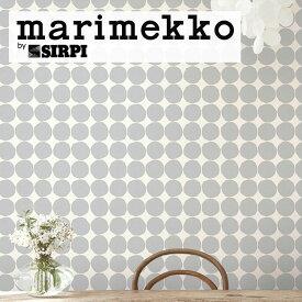 輸入壁紙 marimekko(マリメッコ) Wallcoverings 5 / PIENET KIVET Grey 23380(1ロール(70cm×10m)単位で販売)フリース(不織布)【国内在庫】