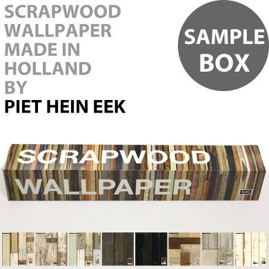 サンプルボックス輸入壁紙 オランダ製SCRAPWOOD WALLPAPER / スクラップウッド・ウォールペーパー(1枚(48.7cm×50cm)、8枚入りで販売)フリース(不織布)壁紙