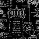 輸入壁紙の切り売り(幅52cm×1m単位で切売)GRAHAM & BROWN グラハム・アンド・ブラウン Coffee Shop Black / White…