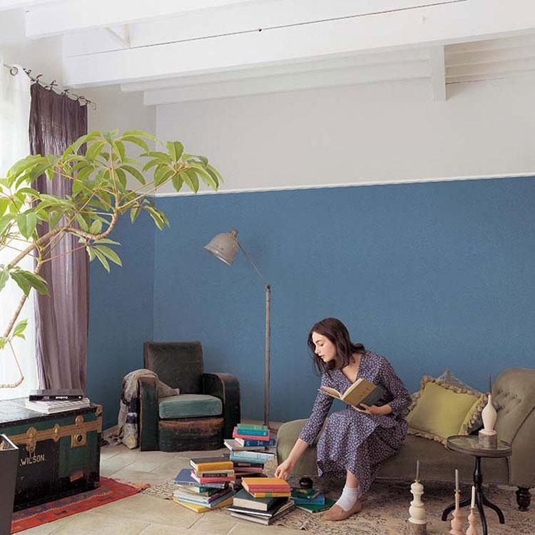 生のりつき壁紙/ネイビー・紺色の壁紙 SFE-1198