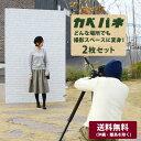 撮影用背景パネル カベパネ 2枚セット【メーカー直送代引き不可】