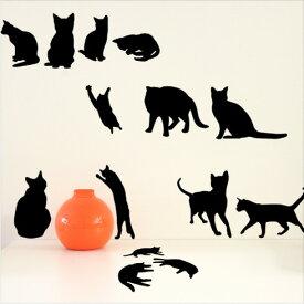【即日発送可能】 本舗オリジナルステッカー ねこの詰め合わせ 「Cats」FP-0093E 全16色 【すぐ発送可能!】【POSH】 ※メーカー直送商品 【メーカー直送のため代引き不可】 壁紙屋本舗