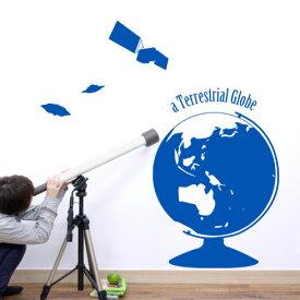 【即日発送可能】 本舗オリジナルステッカー 地球儀 「a Terrestrial Globe」FP-0128F2 全16色 【すぐ発送可能!】【POSH】 ※メーカー直送商品 【メーカー直送のため代引き不可】 壁紙屋本舗