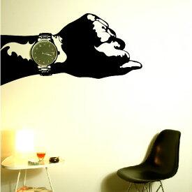 【即日発送可能】 本舗オリジナルステッカー wristwatch 「Wristwatch」FP-0154F2 全16色 【すぐ発送可能!】 【POSH】 ※メーカー直送商品 【メーカー直送のため代引き不可】 壁紙屋本舗