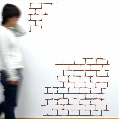 【即日発送可能】本舗オリジナルステッカーレンガ「Brick」FP-0156F4 全16色【すぐ発送可能!】 【POSH】※メーカー直送商品【メーカー直送のため代引き不可】