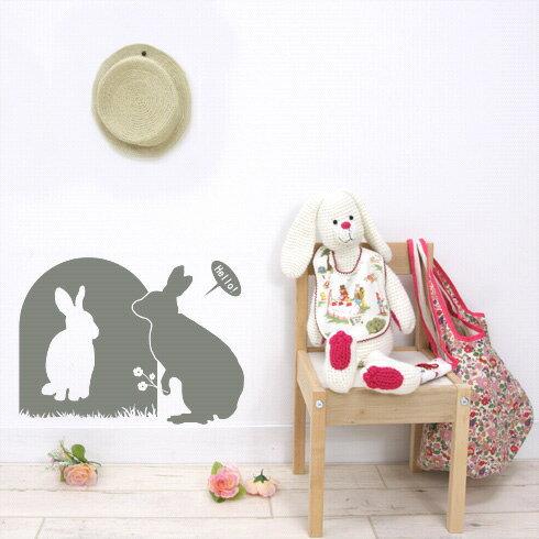 【即日発送可能】本舗オリジナルステッカーウサギの恋「Love of rabbit」FP-0160C 全16色【すぐ発送可能!】 【POSH】※メーカー直送商品【メーカー直送のため代引き不可】