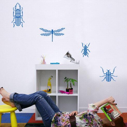 【即日発送可能】本舗オリジナルステッカー昆虫シリーズ「Insect series」FP-0166E2 全16色【すぐ発送可能!】 【POSH】※メーカー直送商品【メーカー直送のため代引き不可】