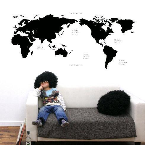 【即日発送可能】本舗オリジナルステッカーblack-world-map「black-world-map」FP-0168F4 全16色【すぐ発送可能!】 【POSH】※メーカー直送商品【メーカー直送のため代引き不可】