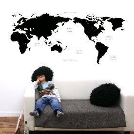 【即日発送可能】 本舗オリジナルステッカー black-world-map 「black-world-map」FP-0168F4 全16色 【すぐ発送可能!】 【POSH】 ※メーカー直送商品 【メーカー直送のため代引き不可】 壁紙屋本舗