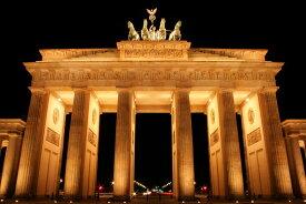 アートパネル 10cm単位でサイズオーダーできる 絵画 壁掛け インテリア 壁飾り キャンバス アート ウォール 都市 都会 摩天楼 ベルリン e22808