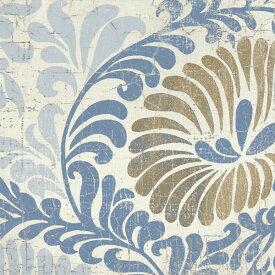 アート 絵画 自然の壁紙 輸入 カスタム壁紙 PHOTOWALL / Blue Shanghai Tile 2 (e22647) 貼ってはがせるフリース壁紙(不織布) 【海外取り寄せのため1カ月程度でお届け】 【代引き不可】