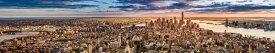 都市 都会 摩天楼 ニューヨーク NYの壁紙輸入 カスタム壁紙 PHOTOWALL / New York Panorama before Sunset (e40671)貼ってはがせるフリース壁紙(不織布)【海外取り寄せのため1カ月程度でお届け】【代引き不可】