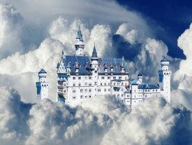 城 宮殿 キャッスル 建物 雲 ファンタジーの壁紙 輸入 カスタム壁紙 PHOTOWALL / Fairy Tale Castle (e310468) 貼ってはがせるフリース壁紙(不織布) 【海外取り寄せのため1カ月程度でお届け】 【代引き不可】