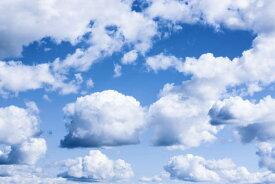 ブルー 青 空 スカイ 雲 クラウドの壁紙 輸入 カスタム壁紙 PHOTOWALL / Cumulus Clouds (e311356) 貼ってはがせるフリース壁紙(不織布) 【海外取り寄せのため1カ月程度でお届け】 【代引き不可】
