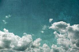 空 アート 雲の壁紙 輸入 カスタム壁紙 PHOTOWALL / Textured Cloudy Sky (e313645) 貼ってはがせるフリース壁紙(不織布) 【海外取り寄せのため1カ月程度でお届け】 【代引き不可】