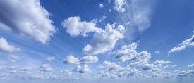 空 雲 青 ブルーの壁紙 輸入 カスタム壁紙 PHOTOWALL / Beautiful Summer Sky (e317924) 貼ってはがせるフリース壁紙(不織布) 【海外取り寄せのため1カ月程度でお届け】 【代引き不可】 壁紙屋本舗