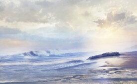 海 雲 空 波の壁紙 輸入 カスタム壁紙 PHOTOWALL / Misty Clouds over Sea (e318940) 貼ってはがせるフリース壁紙(不織布) 【海外取り寄せのため1カ月程度でお届け】 【代引き不可】