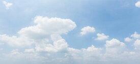 空 雲 自然 青 ブルーの壁紙 輸入 カスタム壁紙 PHOTOWALL / Clouds in Sky (e318136) 貼ってはがせるフリース壁紙(不織布) 【海外取り寄せのため1カ月程度でお届け】 【代引き不可】