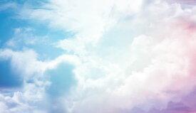 空 雲 グラデーション 青 ブルー 紫 パープルの壁紙 輸入 カスタム壁紙 PHOTOWALL / Cloudy Sky (e318361) 貼ってはがせるフリース壁紙(不織布) 【海外取り寄せのため1カ月程度でお届け】 【代引き不可】