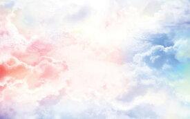 空 雲 グラデーション 青 ブルー ピンクの壁紙 輸入 カスタム壁紙 PHOTOWALL / Cloudy Sky (e318364) 貼ってはがせるフリース壁紙(不織布) 【海外取り寄せのため1カ月程度でお届け】 【代引き不可】