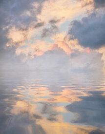 空 雲 グラデーションの壁紙 輸入 カスタム壁紙 PHOTOWALL / Sky Reflecting on the Sea (e318370) 貼ってはがせるフリース壁紙(不織布) 【海外取り寄せのため1カ月程度でお届け】 【代引き不可】