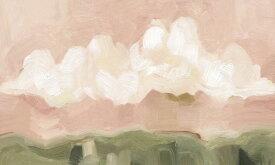 雲 絵画 ピンクの壁紙 輸入 カスタム壁紙 PHOTOWALL / Pink Haze Sunset (e320358) 貼ってはがせるフリース壁紙(不織布) 【海外取り寄せのため1カ月程度でお届け】 【代引き不可】