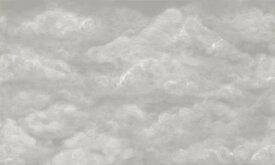 雲 空 灰色 グレーの壁紙 輸入 カスタム壁紙 PHOTOWALL / Tender Clouds - Beige (e320866) 貼ってはがせるフリース壁紙(不織布) 【海外取り寄せのため1カ月程度でお届け】 【代引き不可】