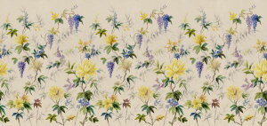 花 パターン 花柄の壁紙 輸入 カスタム壁紙 PHOTOWALL / Blossomy (e323184) 貼ってはがせるフリース壁紙(不織布) 【海外取り寄せのため1カ月程度でお届け】 【代引き・後払い不可】