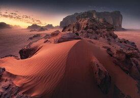 砂漠 砂 岩 山 空 雲 自然 風景 景色 ピンクの壁紙 輸入 カスタム壁紙 PHOTOWALL / Red Sand Dune (e327060) 貼ってはがせるフリース壁紙(不織布) 【海外取り寄せのため1カ月程度でお届け】 【代引き不可】