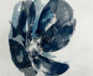 水彩画 花 青 ブルーの壁紙 輸入 カスタム壁紙 PHOTOWALL / Watercolor Paint (e327484) 貼ってはがせるフリース壁紙(不織布) 【海外取り寄せのため1カ月程度でお届け】 【代引き・後払い不可】