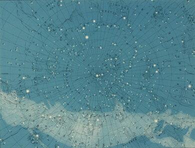 空 星 ヴィンテージ の壁紙輸入 カスタム壁紙 Rebel Walls #5 Maps / ATLAS OF ASTRONOMY / R13811貼ってはがせるフリース壁紙(不織布)【海外取り寄せのため1カ月程度でお届け】【代引き不可】