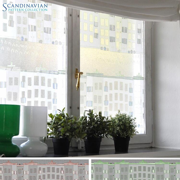 ウィンドウフィルム ガラスフィルム/サンゲツ Scandinavian Pattern Collection(スカンジナビアン パターン コレクション) (縦92cm×横90cm) SPC646|SPC644