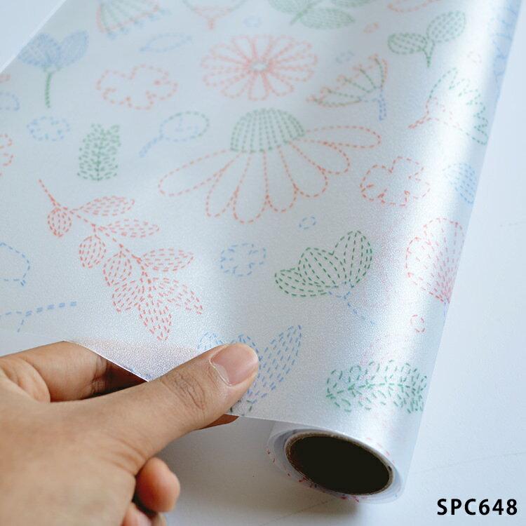 ウィンドウフィルム ガラスフィルム/サンゲツ Scandinavian Pattern Collection(スカンジナビアン パターン コレクション) (縦92cm×横90cm) SPC648