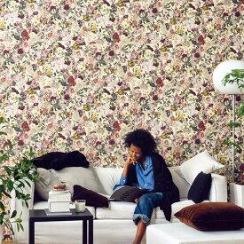 【ボタニカルの壁紙セレクション】のりなし 国産 壁紙 クロス SRE-7326壁紙 のり無し クロス (販売単位1m)賃貸でも貼れるのりなしタイプ