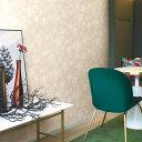 【クラシック花柄の壁紙セレクション】生のり付き 国産 壁紙 クロス SBB-1766壁紙 のりつき クロス生のり付き壁紙(販…