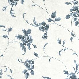 【サンプル専用】クラシック花柄 壁紙サンプル 国産ビニル壁紙 セレクション SLL-5397サンプルメール便OK