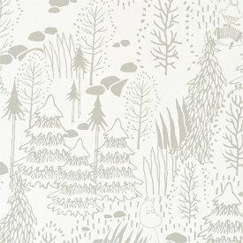 【サンプル専用】ムーミン 壁紙サンプル 国産ビニル壁紙 セレクション SFE-6306サンプルメール便OK