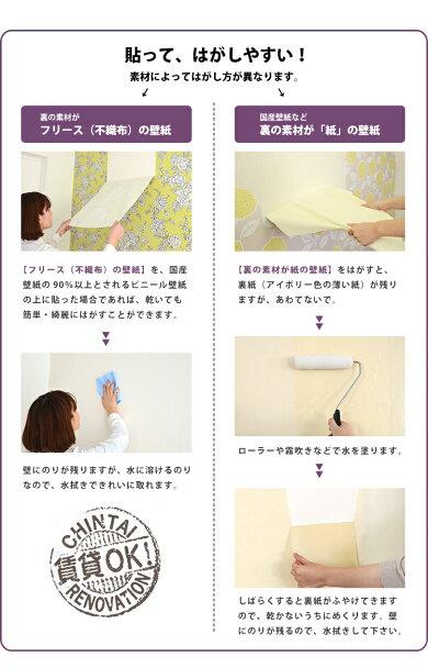 【剥がせる壁紙のり】張ってはがしやすい輸入壁紙専用粉のりウォールペーパーペースト