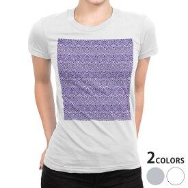 tシャツ レディース 半袖 白地 デザイン S M L XL Tシャツ ティーシャツ T shirt 012709 星 柄 青